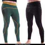 93 Brand Standard Issue Grappling Tights 2-PACK (Black, Green)